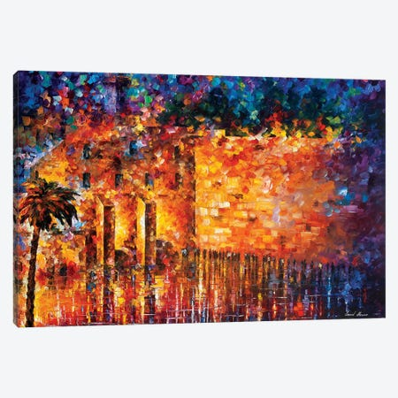 Wailing Wall Canvas Print #LEA182} by Leonid Afremov Canvas Artwork