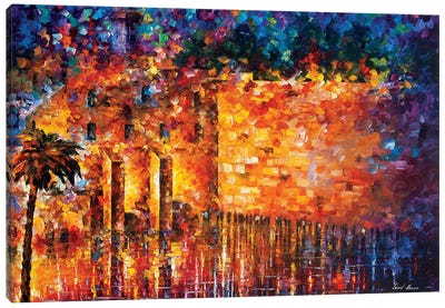Wailing Wall Canvas Art Print