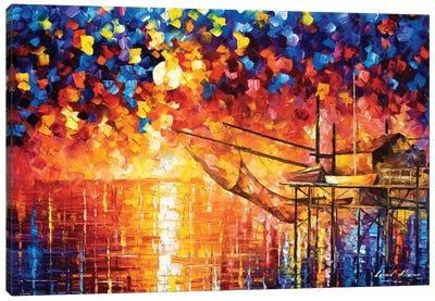 Wooden Dock Canvas Art Print