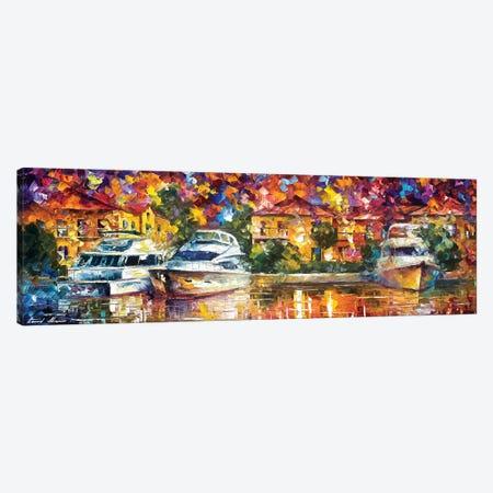 Yacht Canvas Print #LEA186} by Leonid Afremov Canvas Art Print