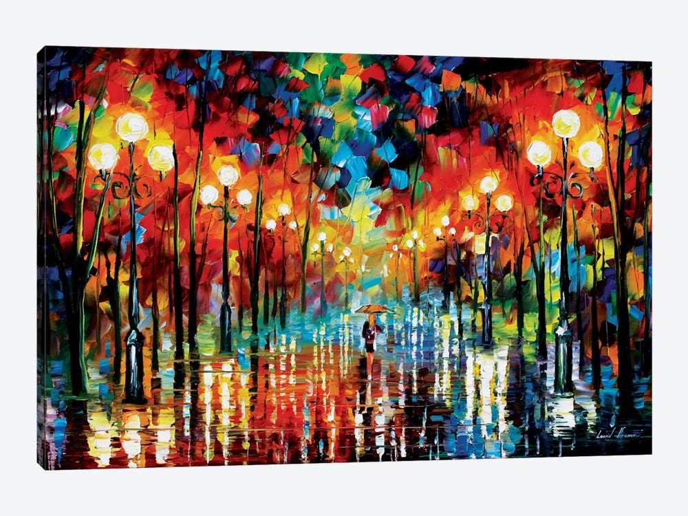 A Date With The Rain by Leonid Afremov 1-piece Canvas Artwork