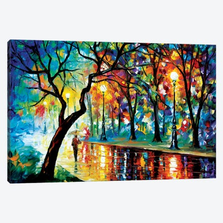 Dark Night II Canvas Print #LEA20} by Leonid Afremov Canvas Art Print