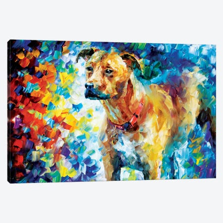 Dog III Canvas Print #LEA21} by Leonid Afremov Art Print