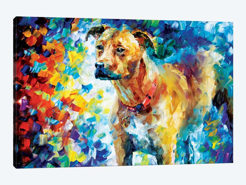 Dog III by Leonid Afremov 1-piece Canvas Art