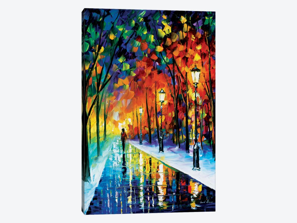 Frozen Path by Leonid Afremov 1-piece Canvas Art