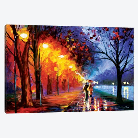 Alley By The Lake I Canvas Print #LEA2} by Leonid Afremov Canvas Print