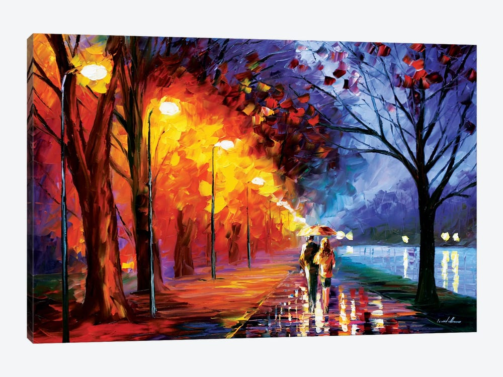 Alley By The Lake I by Leonid Afremov 1-piece Art Print