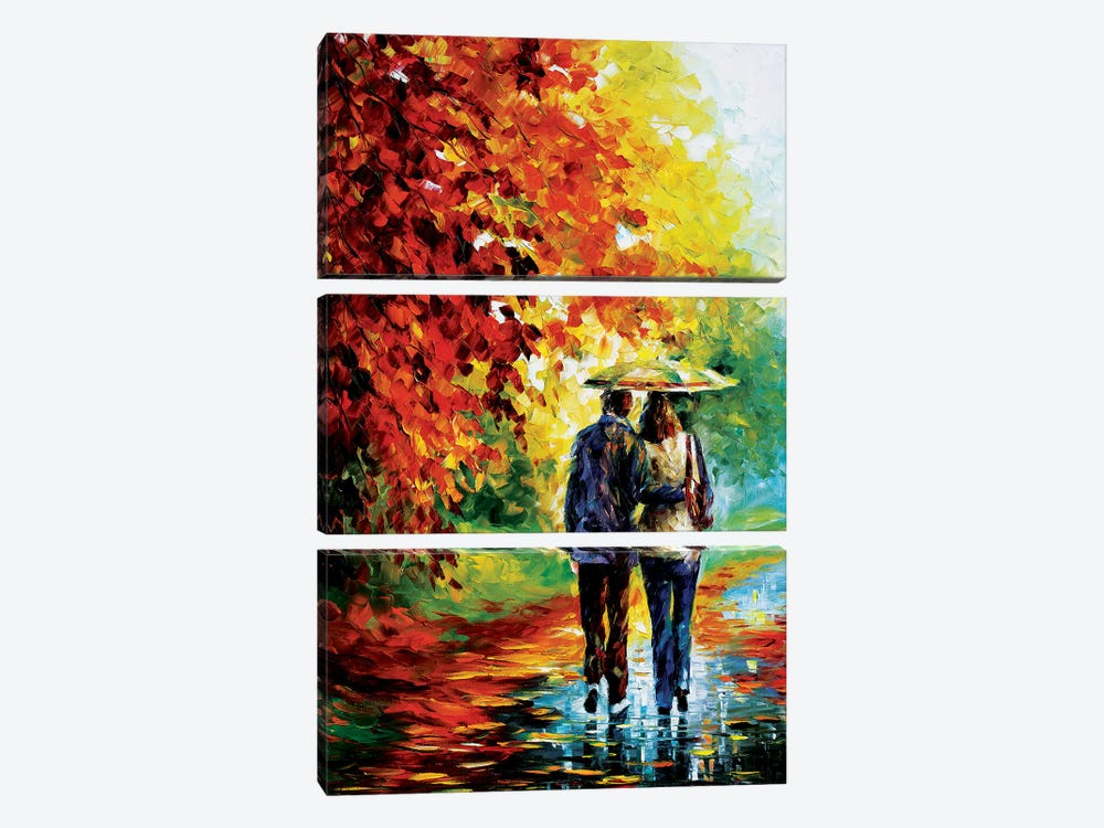 Intriguing Autumn by Leonid Afremov 3-piece Art Print