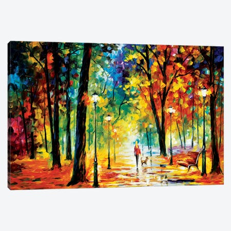 Improvisation Of Nature Canvas Print #LEA32} by Leonid Afremov Canvas Art