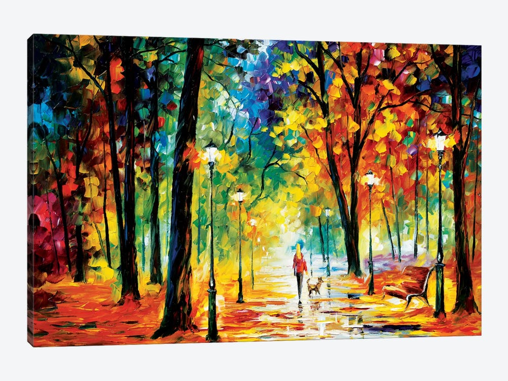 Improvisation Of Nature by Leonid Afremov 1-piece Canvas Artwork