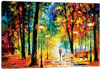 Improvisation Of Nature Canvas Art Print