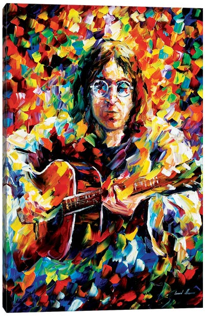 John Lennon by Leonid Afremov Canvas Artwork