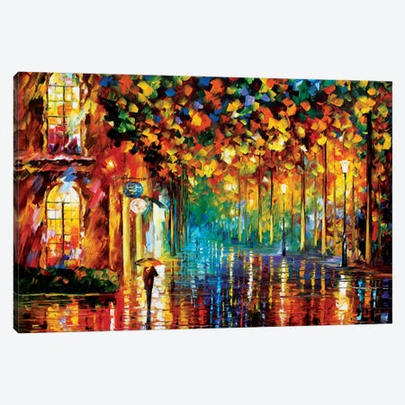 Late Stroll Canvas Print #LEA37} by Leonid Afremov Canvas Print
