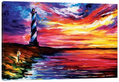 Lighthouse Canvas Print #LEA39