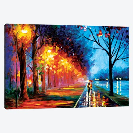Alley By The Lake II Canvas Print #LEA3} by Leonid Afremov Art Print