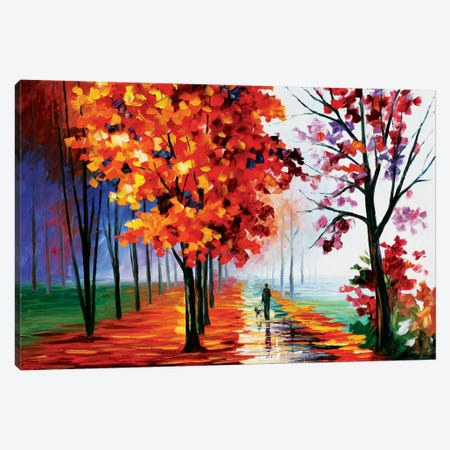 Lilac Fog Canvas Print #LEA40} by Leonid Afremov Canvas Print