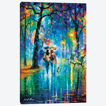 Little Friend Canvas Print #LEA42} by Leonid Afremov Canvas Art Print