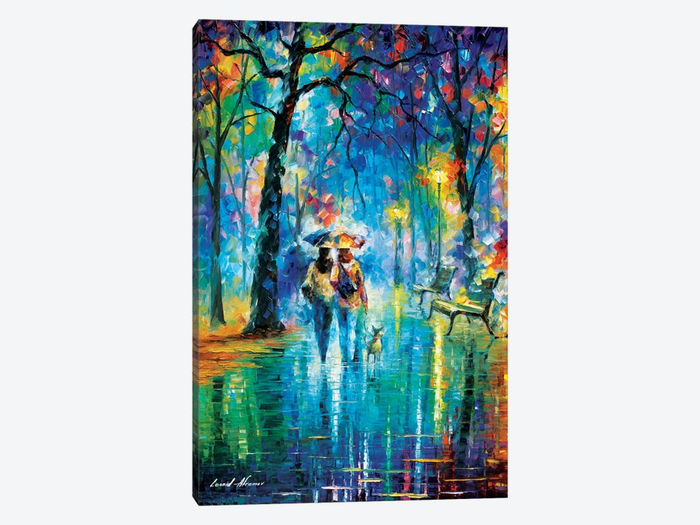 Little Friend by Leonid Afremov 1-piece Art Print