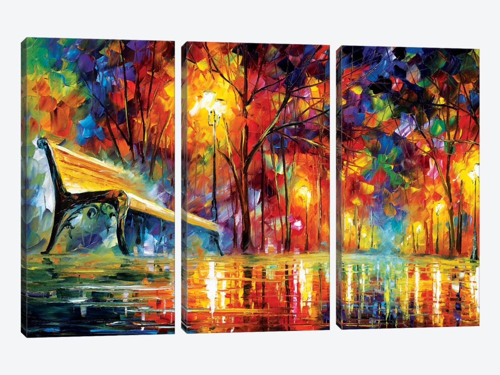 Lost Love by Leonid Afremov 3-piece Canvas Art Print