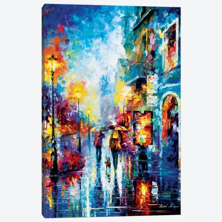 Melody Of Passion Canvas Print #LEA45} by Leonid Afremov Canvas Artwork