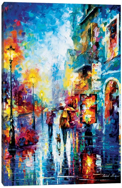 Melody Of Passion Canvas Art Print