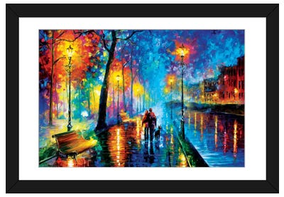 Melody Of The Night Framed Art Print