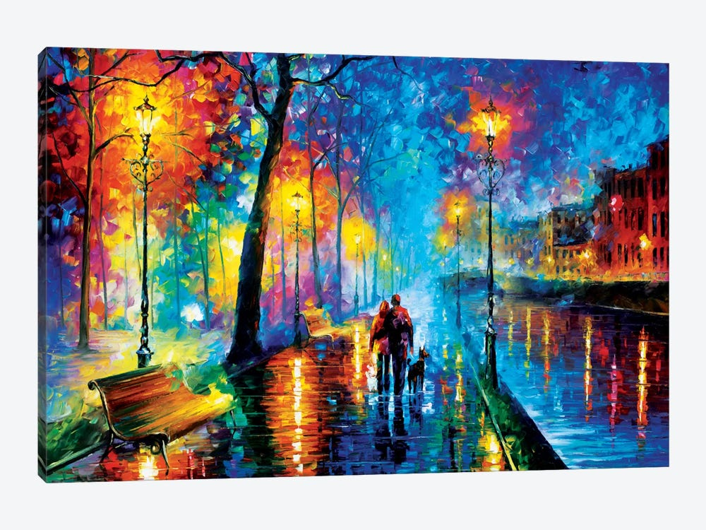 Melody Of The Night by Leonid Afremov 1-piece Art Print