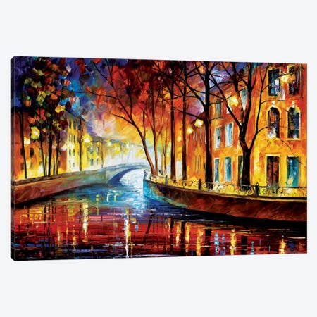 Misty Melody Canvas Print #LEA49} by Leonid Afremov Art Print