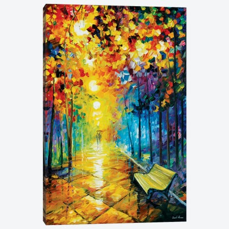 Misty Park I Canvas Print #LEA50} by Leonid Afremov Canvas Wall Art