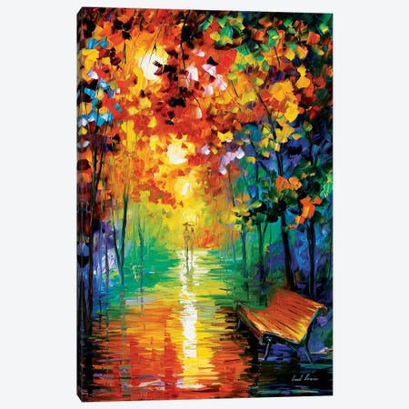 Misty Park II Canvas Print #LEA51} by Leonid Afremov Canvas Art