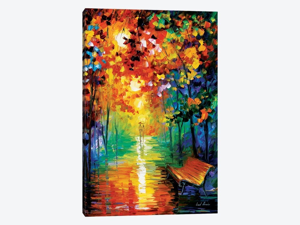 Misty Park II by Leonid Afremov 1-piece Canvas Print