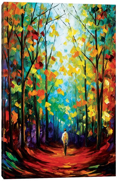 Morning Mood Canvas Print #LEA53