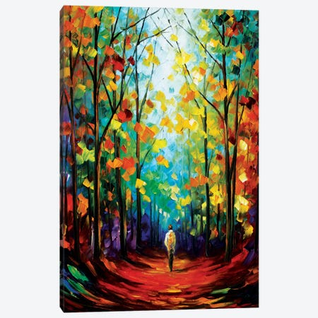 Morning Mood Canvas Print #LEA53} by Leonid Afremov Canvas Artwork