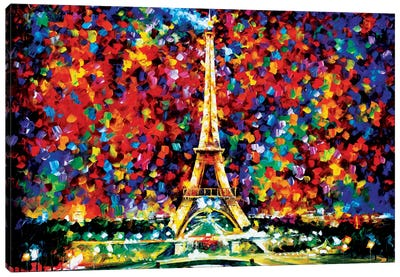 Paris Of My Dreams Canvas Art Print