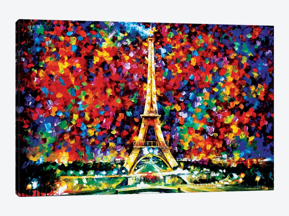 Paris Of My Dreams by Leonid Afremov 1-piece Canvas Art