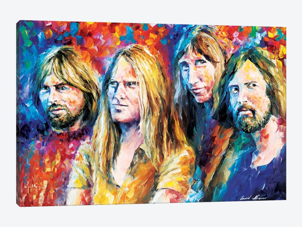 Pink Floyd by Leonid Afremov 1-piece Canvas Art Print