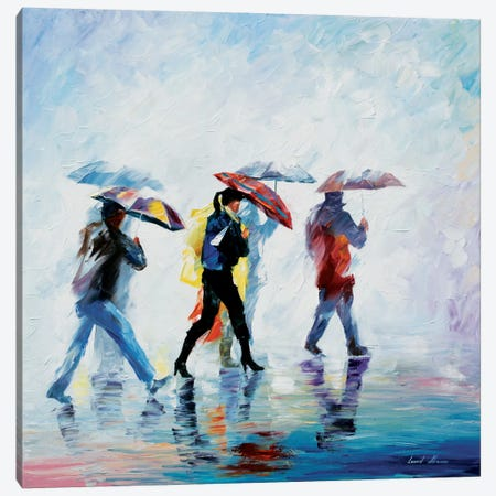 Behind The Fog Canvas Print #LEA5} by Leonid Afremov Canvas Artwork
