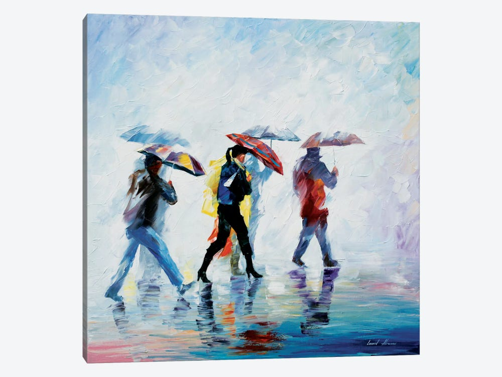 Behind The Fog by Leonid Afremov 1-piece Canvas Art