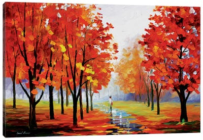 Pink Fog Canvas Print #LEA60