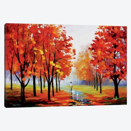Pink Fog Canvas Print #LEA60} by Leonid Afremov Canvas Print