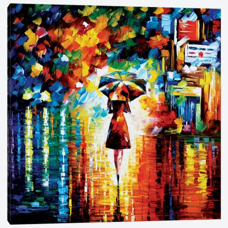 Rain Princess Canvas Print #LEA62} by Leonid Afremov Canvas Print