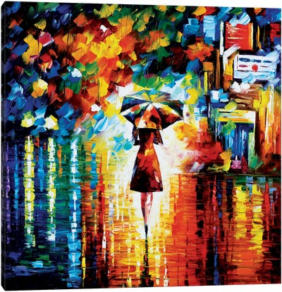 Rain Princess Canvas Art Print