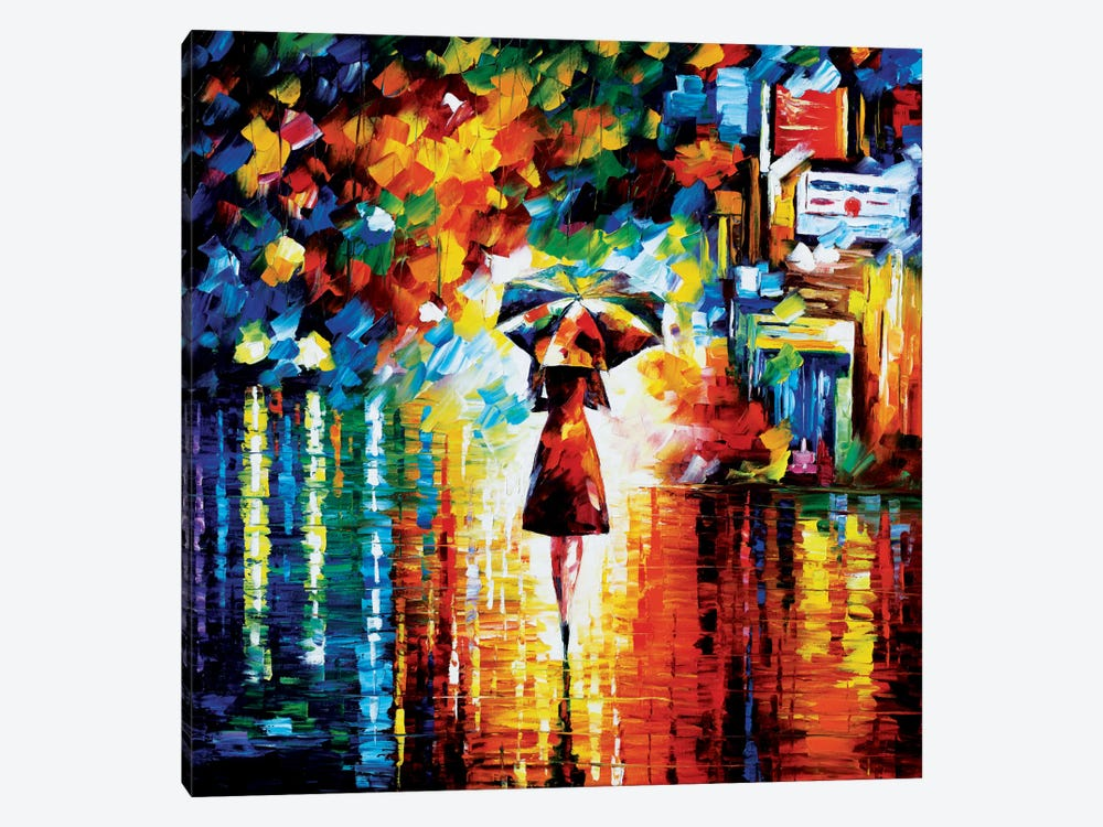 Rain Princess by Leonid Afremov 1-piece Art Print