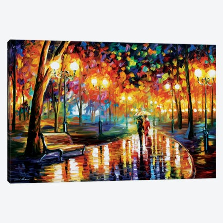 Rain's Rustle I Canvas Print #LEA63} by Leonid Afremov Canvas Print
