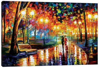 Rain's Rustle I Canvas Art Print