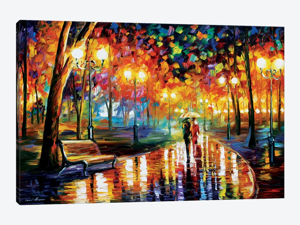 Rain's Rustle I by Leonid Afremov 1-piece Canvas Artwork