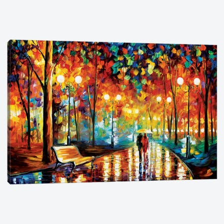 Rain's Rustle II Canvas Art Print
