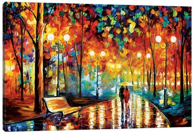 Rain's Rustle II by Leonid Afremov Canvas Artwork
