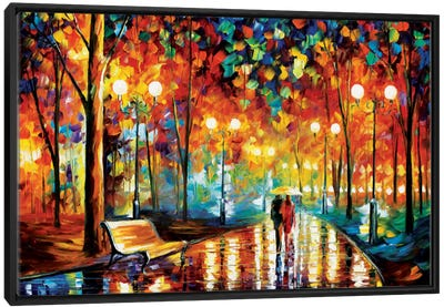 Rain's Rustle II Canvas Art Print