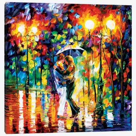 Rainy Dance I Canvas Print #LEA65} by Leonid Afremov Canvas Wall Art